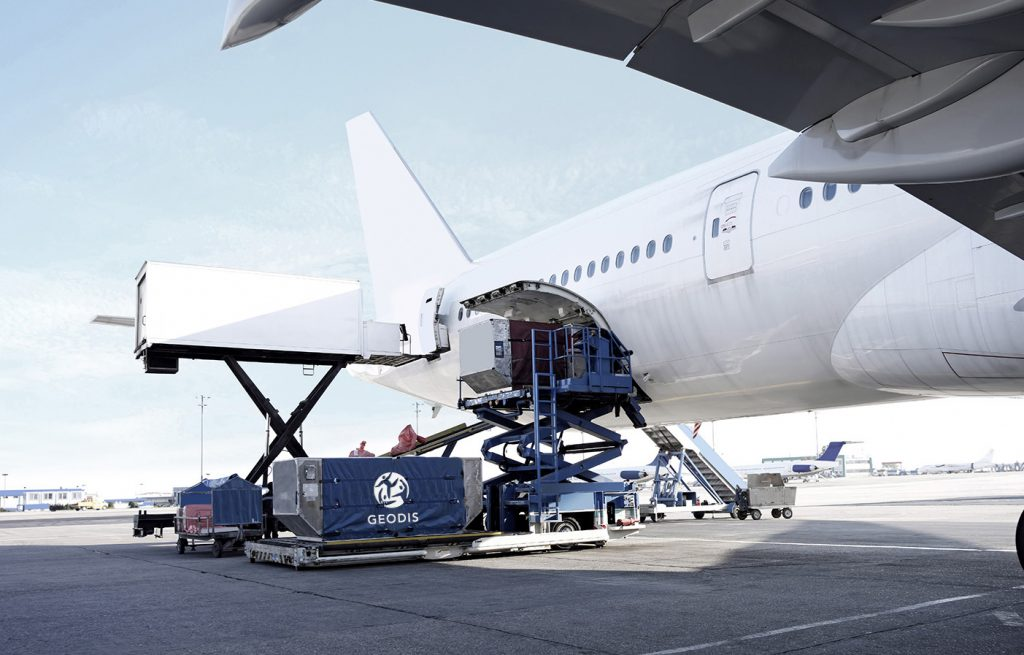 Logistics BusinessNew Airside Freight Handling System for Geodis at Schiphol