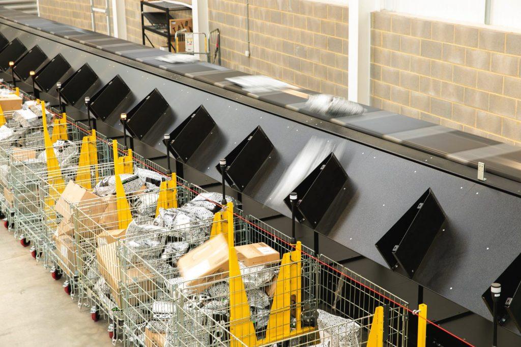 Logistics BusinessParcel Throughput Capacity