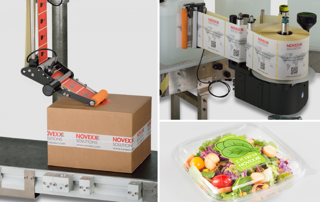 Logistics BusinessLabel Solutions for All Industrial Requirements Promised by Novexx