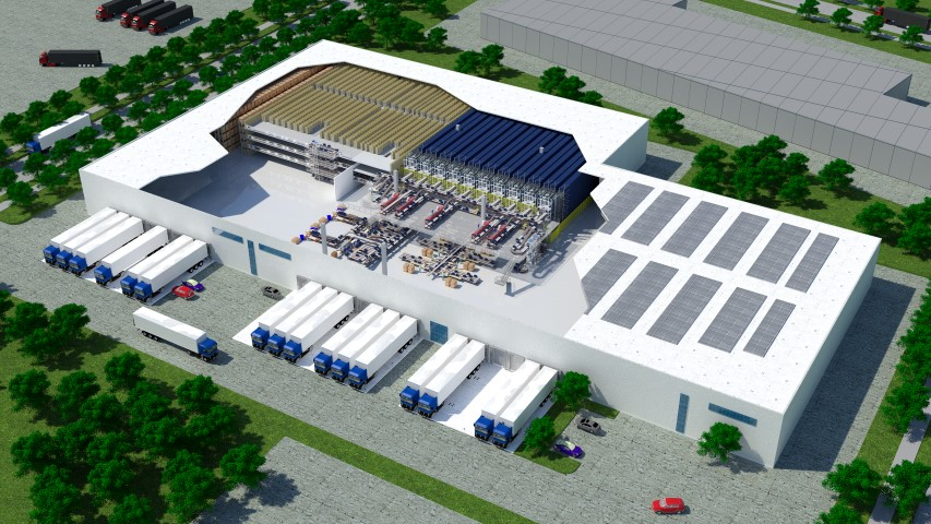Logistics BusinessSSI Schaefer Implements State-of-the-Art Logistics Centre for MISUMI