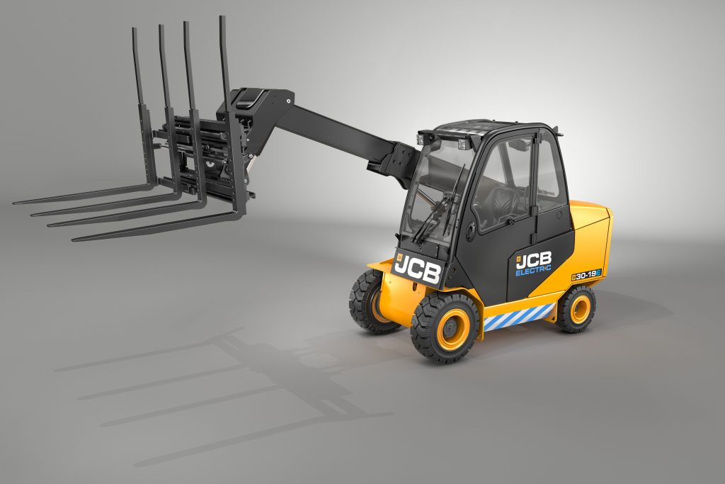 Logistics BusinessJCB New Electric-Powered Teletruk at IMHX 2019