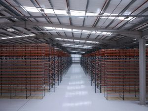 Logistics BusinessLarge Racking Project for New Storage Facility