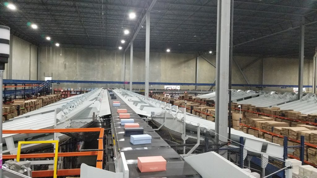 Logistics BusinessShoe Sortation Solution