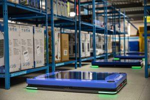 Logistics BusinessSmart, Autonomous Mobile Robots