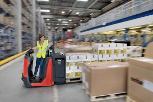 Logistics BusinessBattery and Operator Rejig Boost Linde Picking Visibility