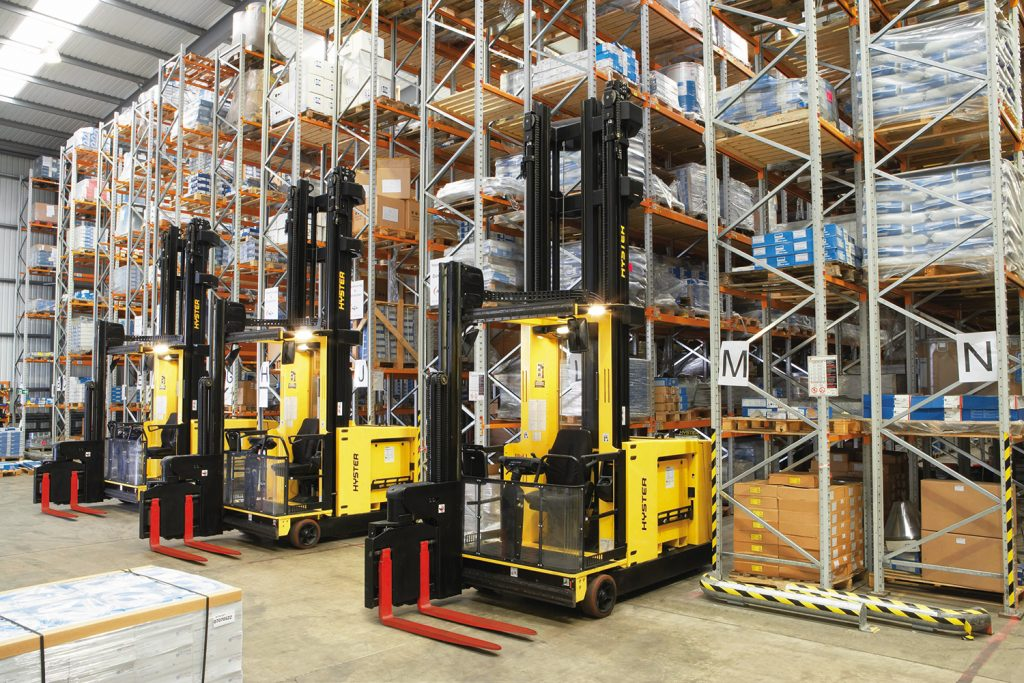 Logistics BusinessHyster Solutions Aiming to Save Warehouse Space