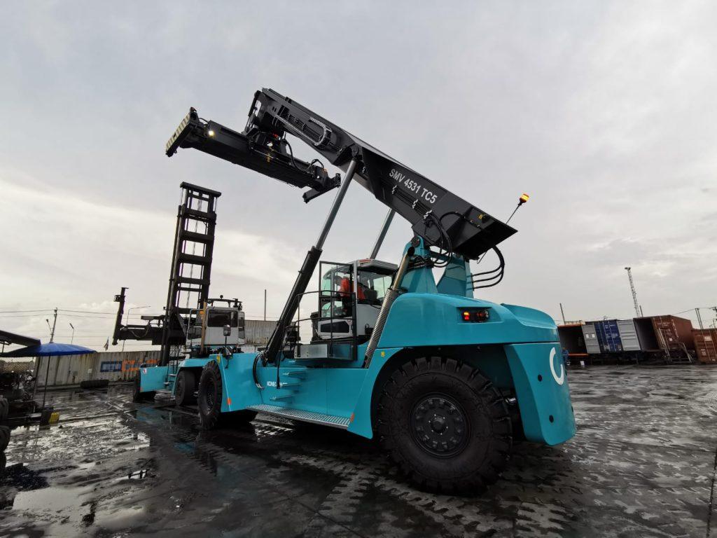 Logistics BusinessKonecranes Trucks Delivered to Thailand Customer
