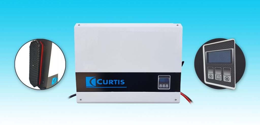 Logistics BusinessVersatile Battery Charger Now Available from Curtis