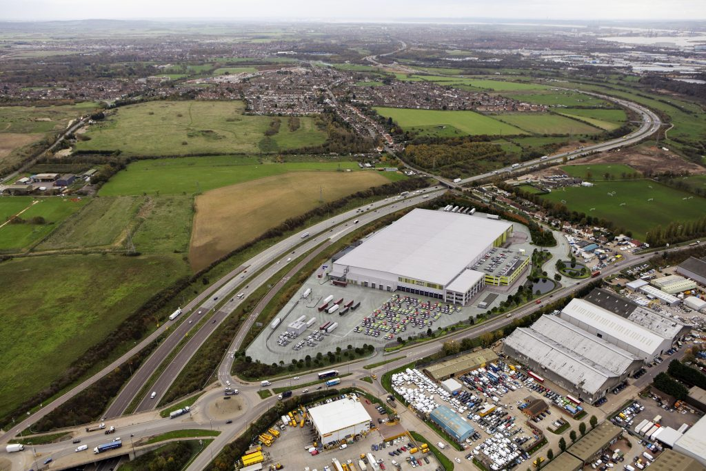 Logistics BusinessOcado to Establish New Facility at SEGRO Logistics Park Purfleet