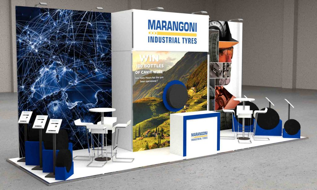 Logistics BusinessWin Wine with Marangoni Industrial Tyres at IMHX