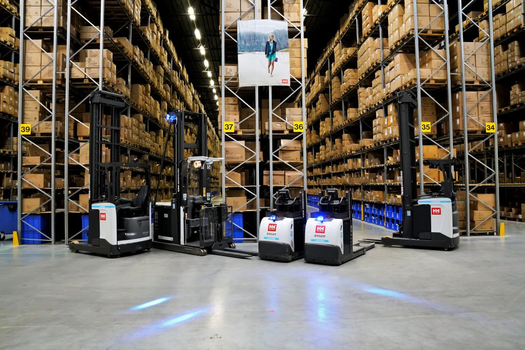 Logistics BusinessCase Study: Helly Hansen opts for UniCarriers once more