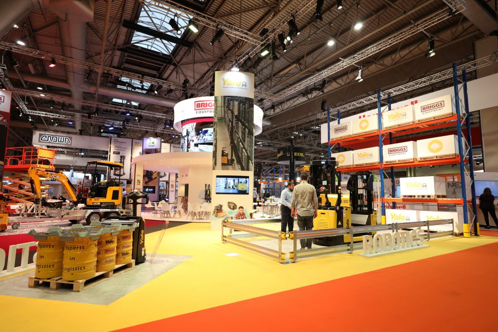 Logistics BusinessSuccessful IMHX for Yale Europe Materials Handling