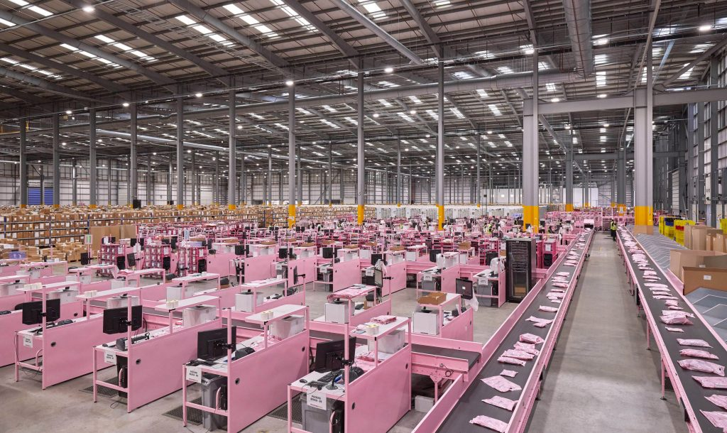 Logistics BusinessOnline Fashion Retail Sortation Project Completed by Leicester Firm
