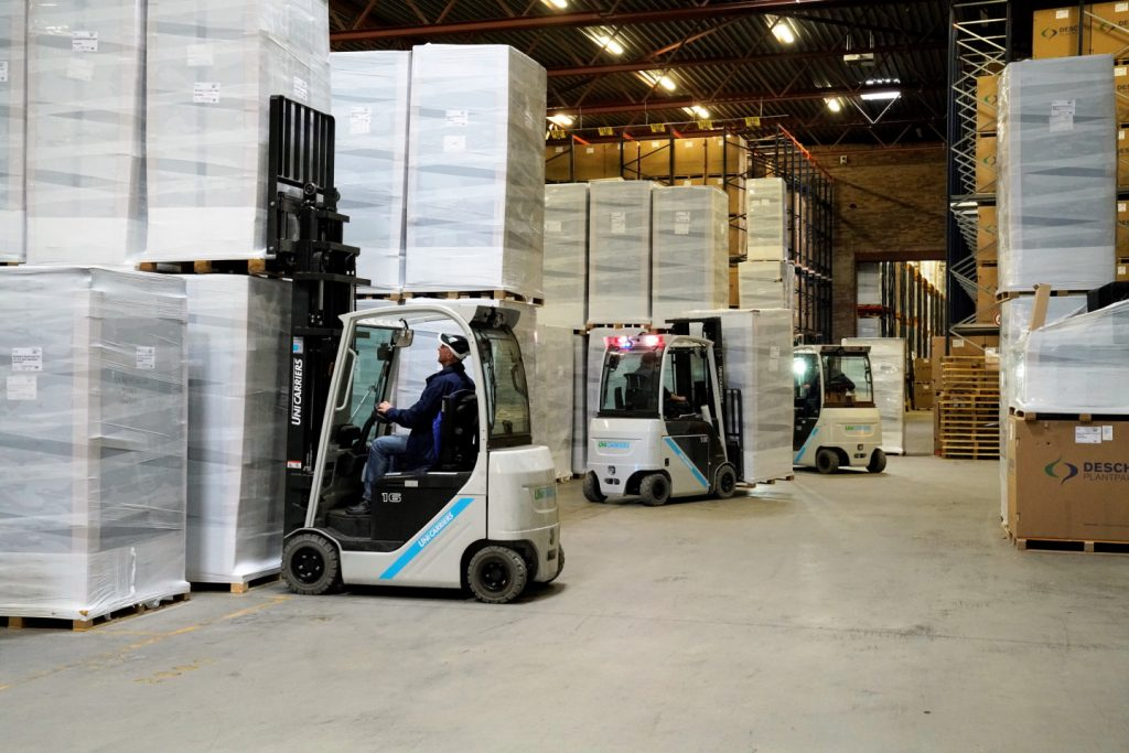 Logistics BusinessCase Study: EnerSys and Unicarriers Make Dutch Fleet More Sustainable