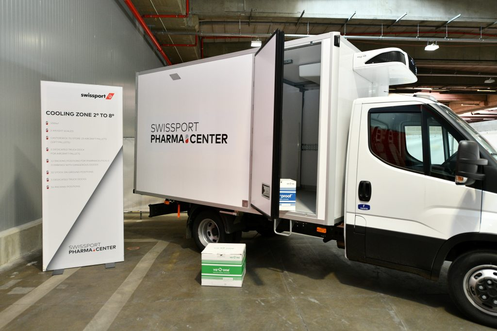Logistics BusinessSwissport Opens Pharma Centre at Brussels Airport