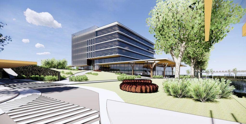 Logistics BusinessWork Starts on New Facilities at Vanderlande HQ