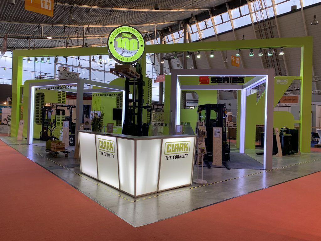 Logistics BusinessElectric Forklifts to Highlight Clark Europe LogiMAT Stand
