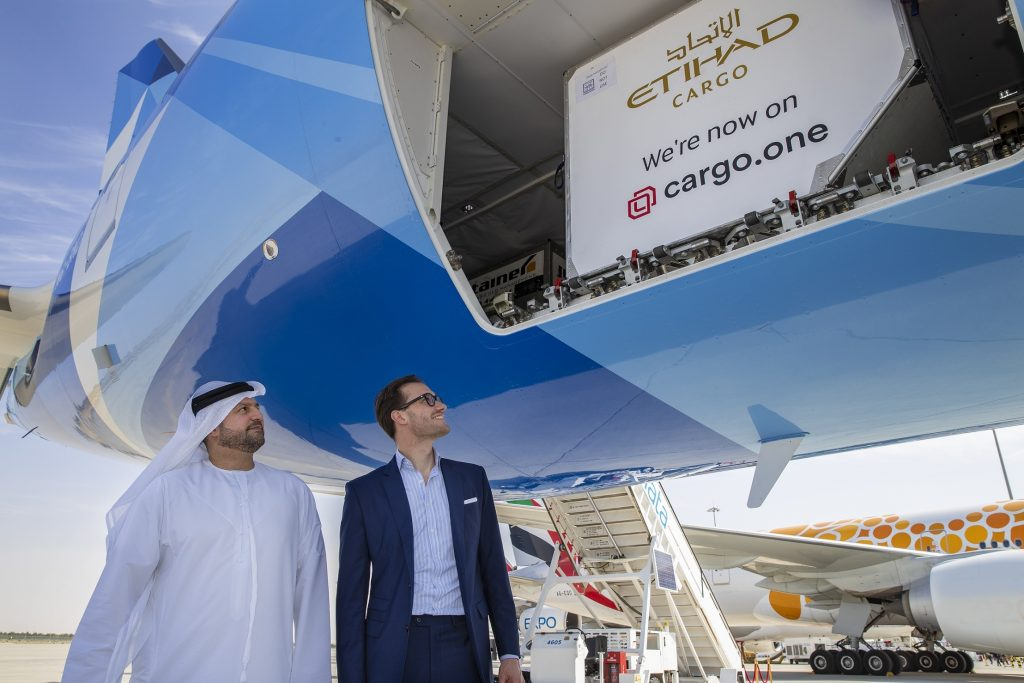 Logistics BusinessEtihad Cargo Signs Deal with Booking Platform cargo.one