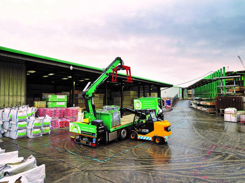 Logistics BusinessFirst JCB Electric Teletruks Sold in UK