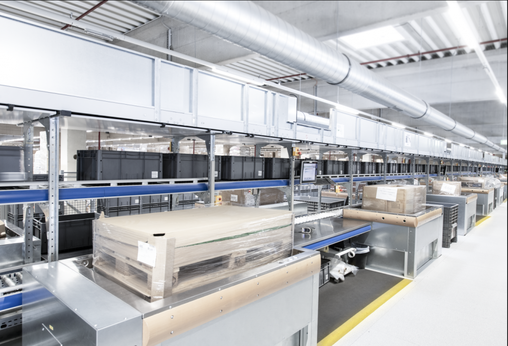 Logistics BusinessCase Study: Doubling Productivity with SSI Schaefer Automation