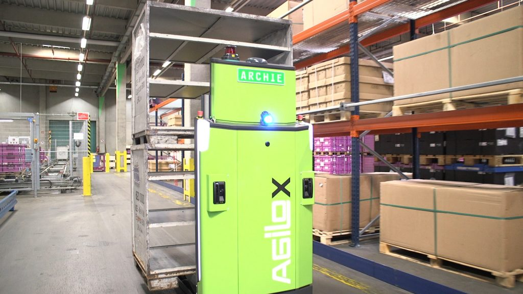 Logistics BusinessDB Schenker Rolls Out Driverless Forklift Truck