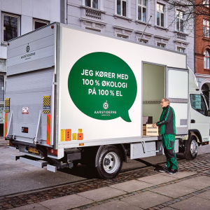 Logistics BusinessDenmark's First Electric Trucks Fitted with Hiab Tail Lifts