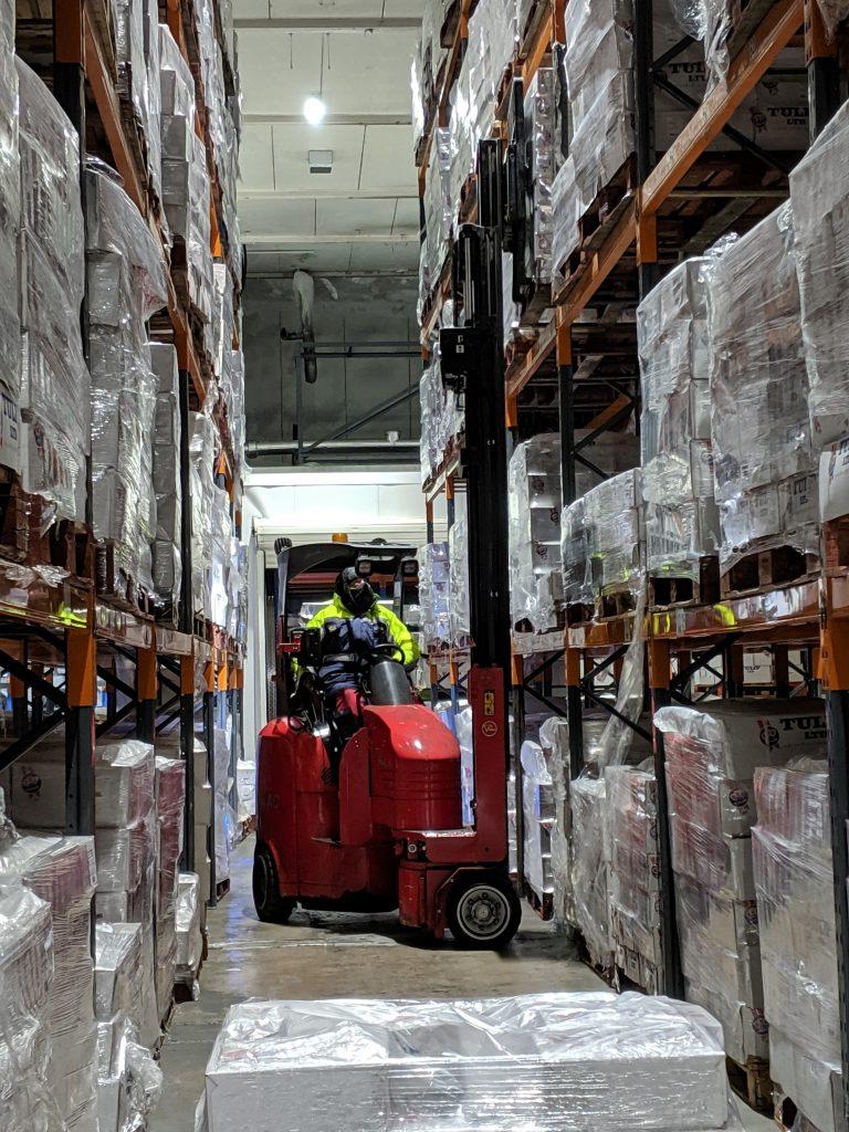 Logistics BusinessLithium-Ion Flexi Trucks Boost Cold Store's Efficiency