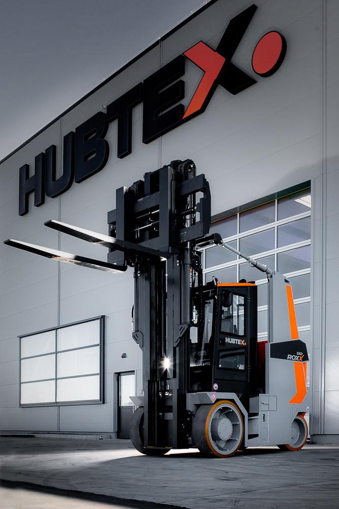 Logistics BusinessHubtex Returns to Compact Forklift Market at LogiMAT