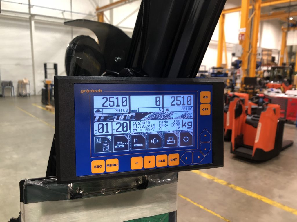 Logistics BusinessB&B Attachments Named Exclusive Distributor for Griptech Mobile Weighing