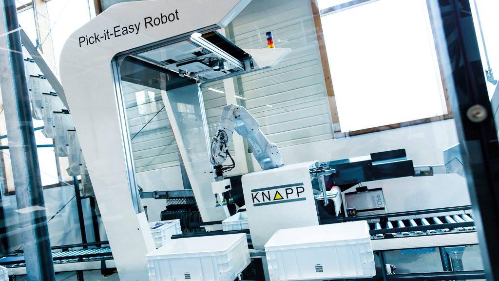 Logistics BusinessKnapp Pick-it-Easy Robot on Show at Modex Next Week