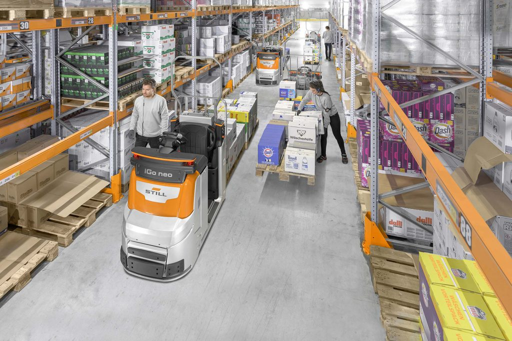 Logistics BusinessSTILL Hybrid Tracking Enables Optimal Team Picking