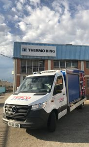 Logistics BusinessNo Emissions While Unit Running with Thermo King E-200