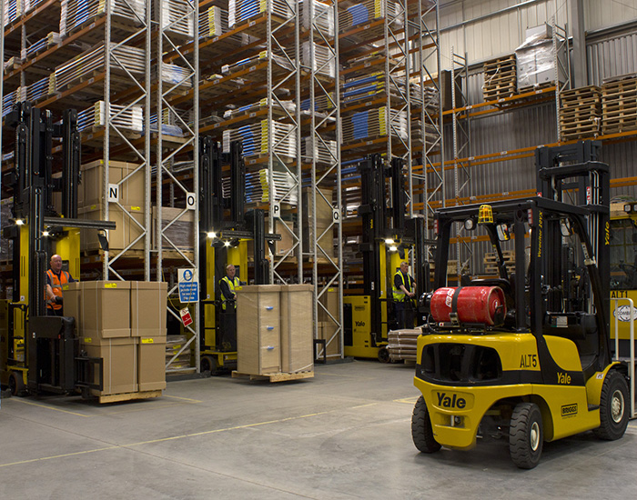 Logistics BusinessIndustry View: Getting Full Value from Very Narrow Aisle Layouts