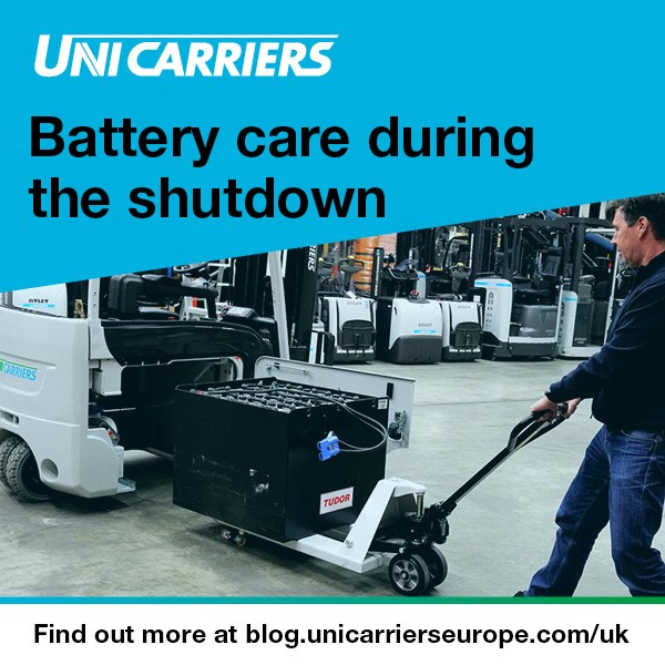 Logistics BusinessExpert Insight: How to Store Your Forklift Battery During the Shutdown