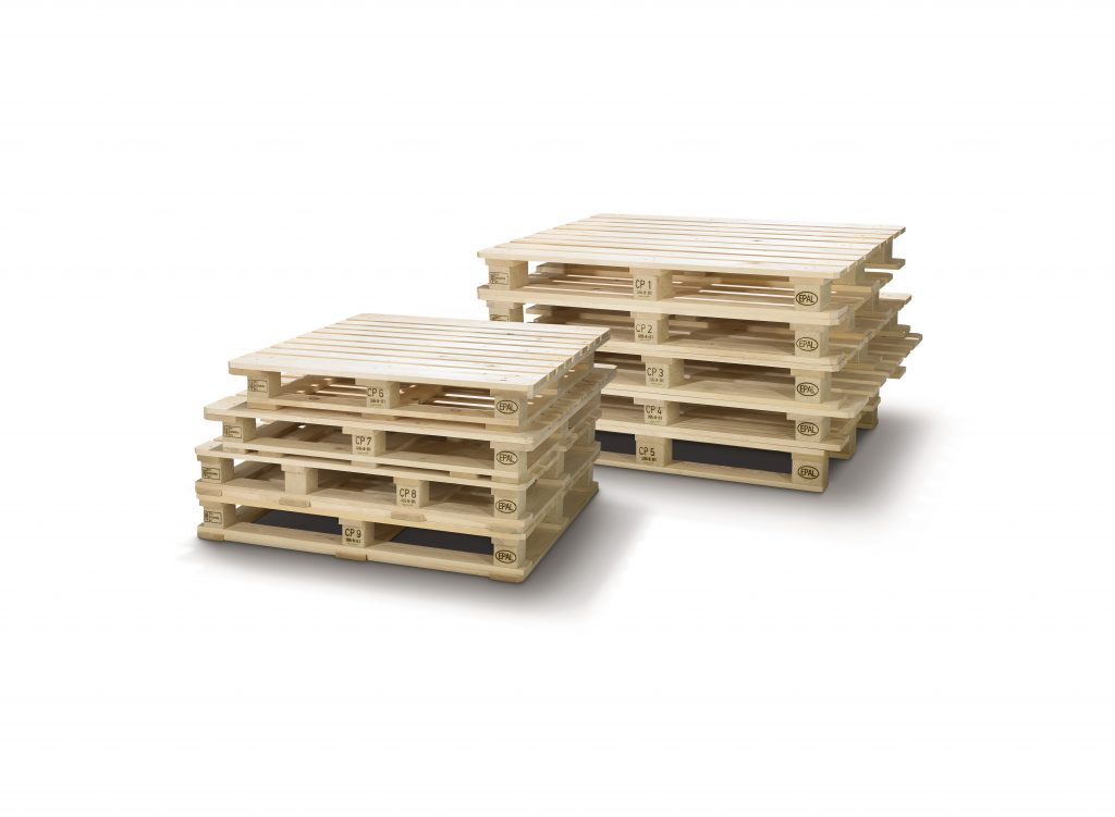 Logistics BusinessEPAL CP Pallets Ready for the Market