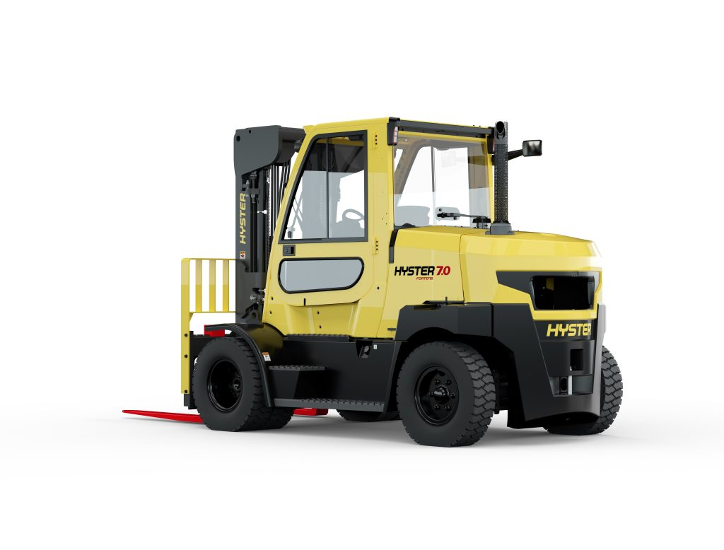 Logistics BusinessHyster Extends Fortens Range with 7t and 8t Lift Models