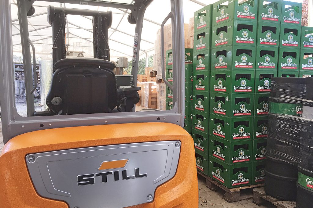 Logistics BusinessSTILL Provides Free Truck For Brewery's Medical Care Production