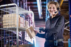 Logistics BusinessEPG Guarantees Functionality with Ergonomic Voxter Scan+