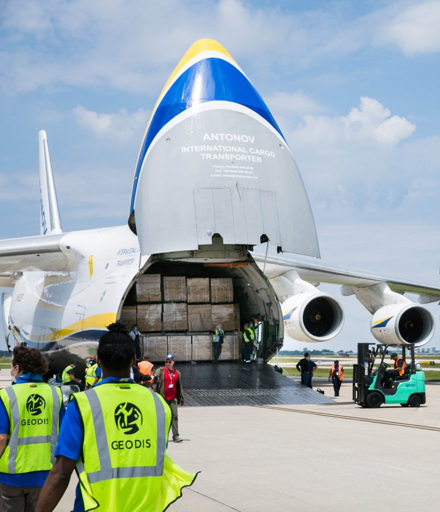 Logistics BusinessGeodis Delivers 13 Million Masks in Single China-US Shipment