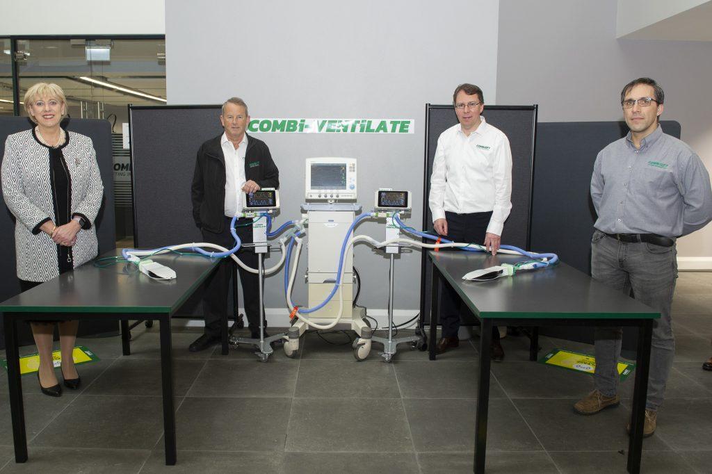 Logistics BusinessCombilift Engineering Expertise Creates Ventilator Splitter Device