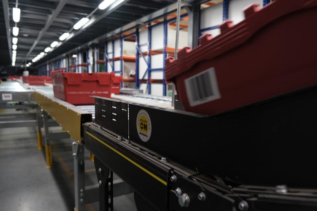 Logistics BusinessInterroll and Teknokom Install Automated Material Flow System in Turkey