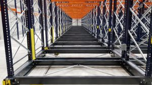 Logistics BusinessCase Study: Mobile Storage and Racking in Seismic Activity Location