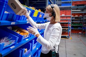 Logistics BusinessReliable Voice Recognition while Wearing a Mask