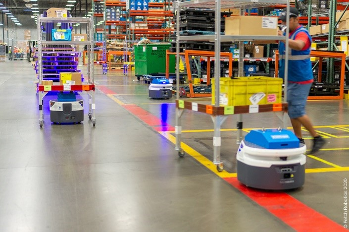 Logistics Businessinconso Forges Partnerships with Robotics Specialists Fetch and Locus