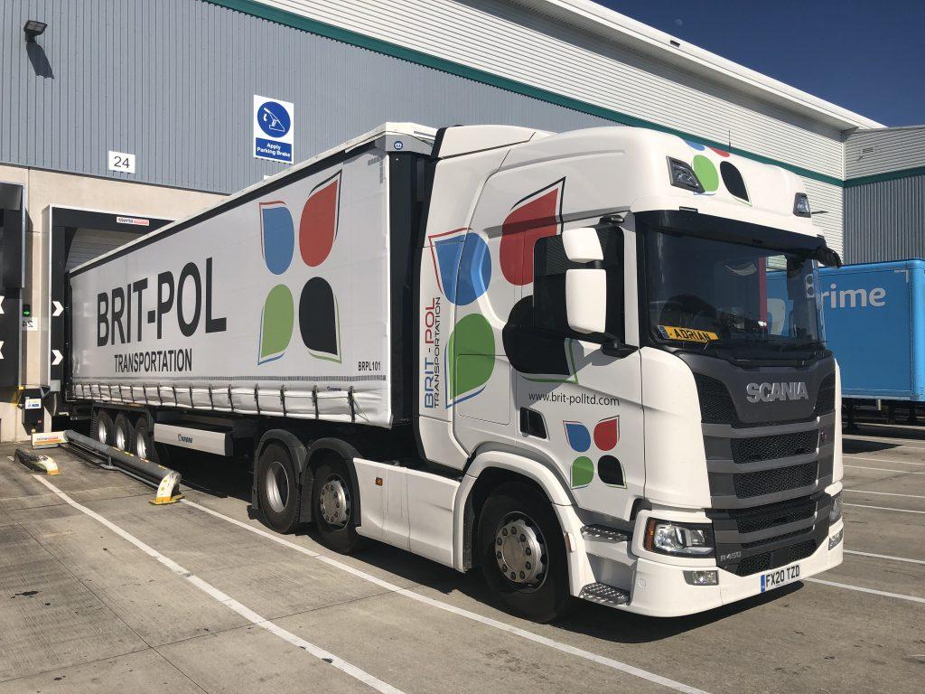 Logistics BusinessSpecialist Transport Operator Brit-Pol Adds 156 Krone Trailers