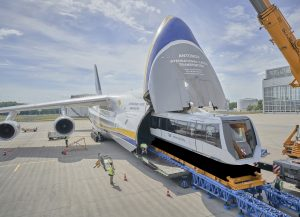 Logistics BusinessTransport System on its way to China