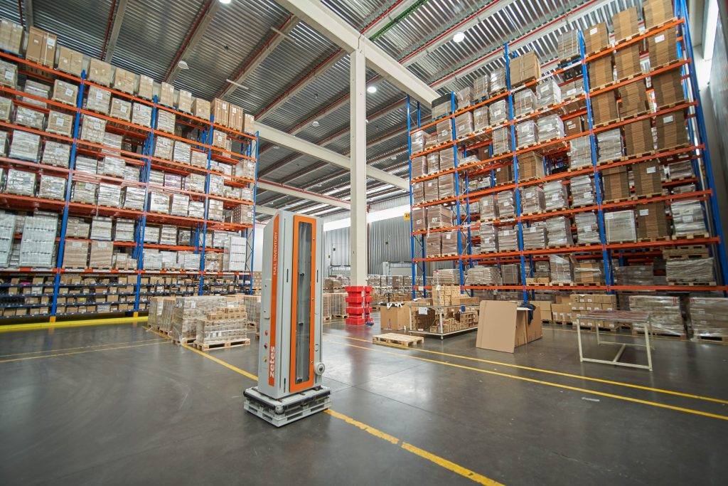 Logistics BusinessFull Pallet Inventory Solution Improves Accuracy