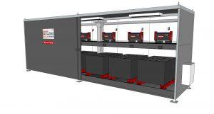 Logistics BusinessFronius Energy Hub Allows Flexible Outdoor Battery Charging