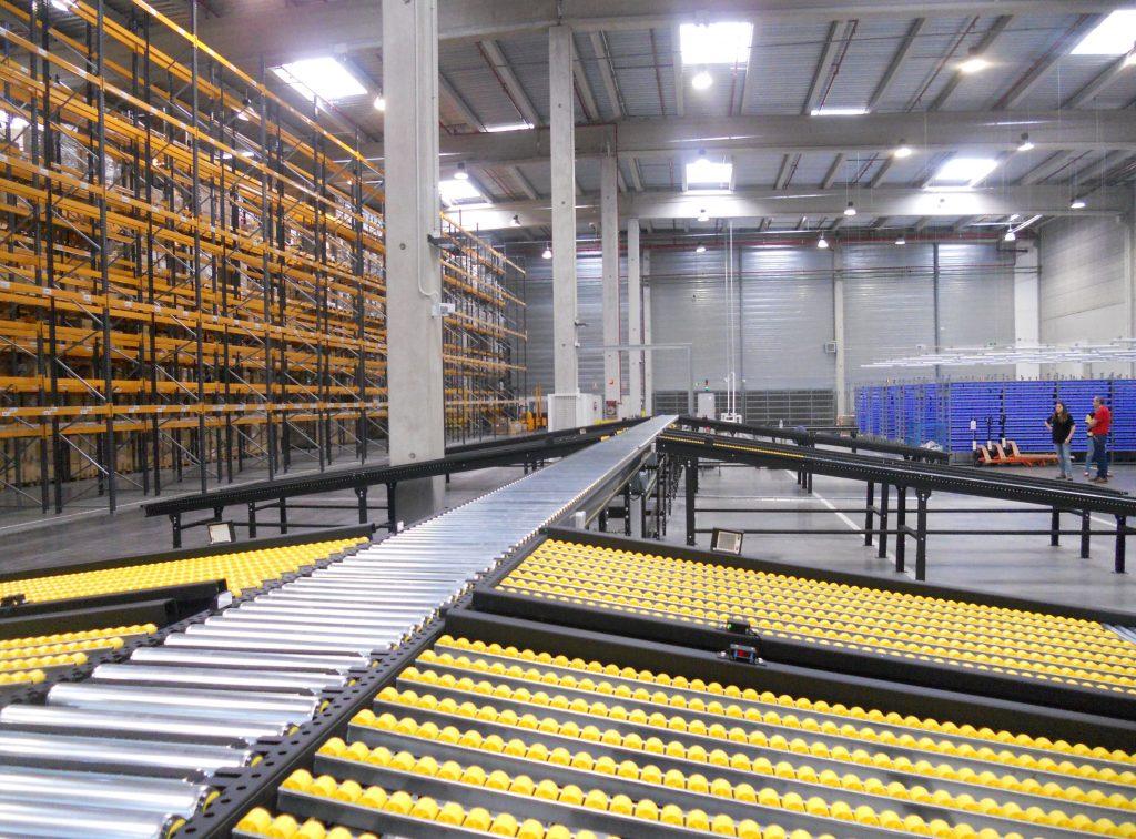 Logistics BusinessInterroll Installs Complex Extension Project in Spain