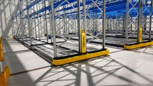 Logistics BusinessCase Study: STAMH Mobile Racking System for Frozen Food Maker